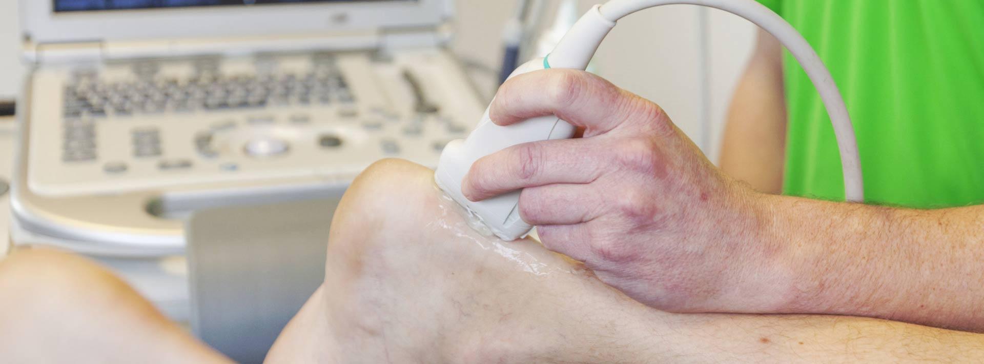 Bekkenfysiotherapie en echografie